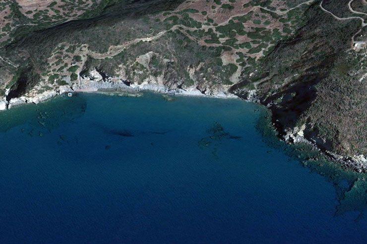 Пляж Какопетритис на Китире