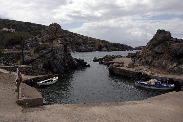 Пляж Лимнария на Китире