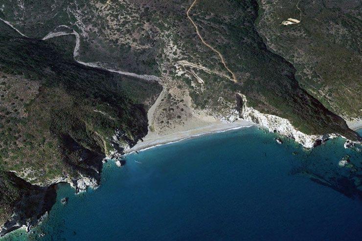 Пляж Влихада на Китире