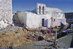 Минойское святилище на пике горы