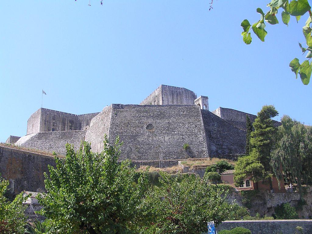 Новая крепость Корфу - Достопримечательности Корфу