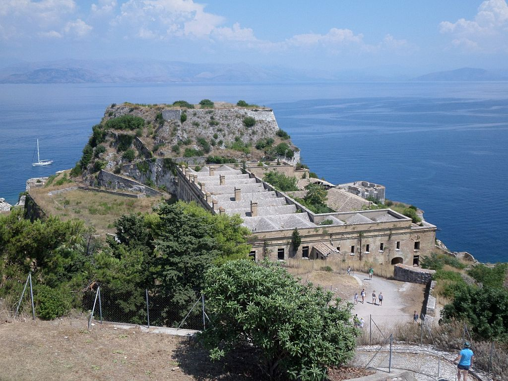 Старая крепость Корфу