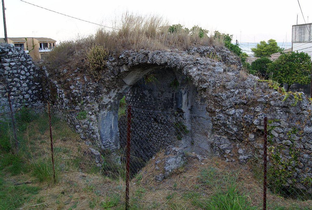 Руины римских бань