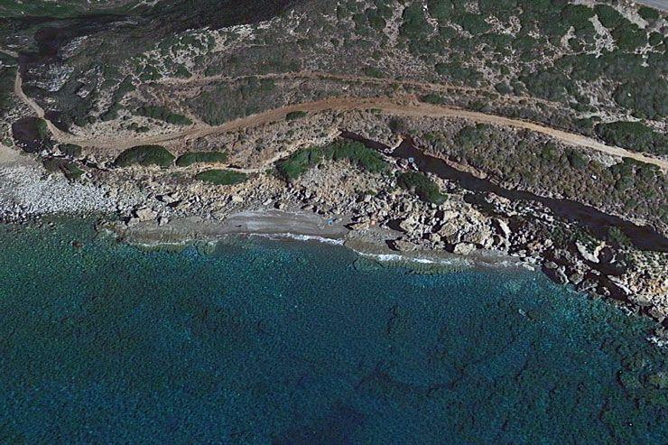 Пляж Агиос Лефтерис