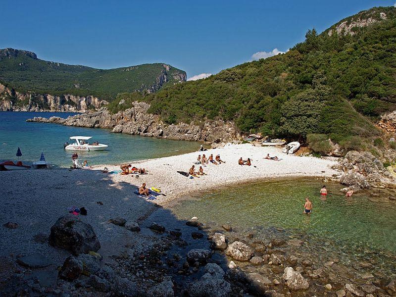 Пляж Лимни
