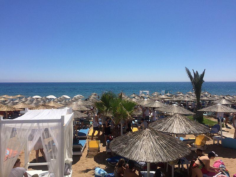 Пляж Марафиас Бич