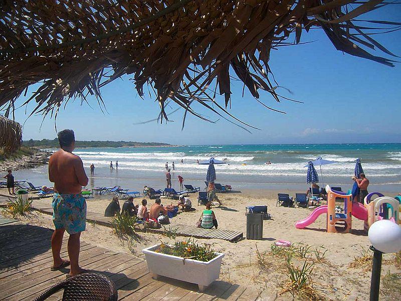 Пляж Молос Бич